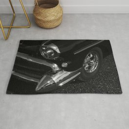 The Pointed Chrome Bumper Rug