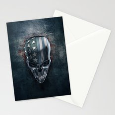 American Horror in Metal Stationery Cards