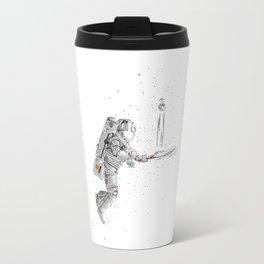 Space cricket Travel Mug