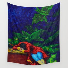 El Sueno De La Razon Produces Monstruos Wall Tapestry