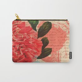 Letters I Have Written, Abstract Floral Carry-All Pouch