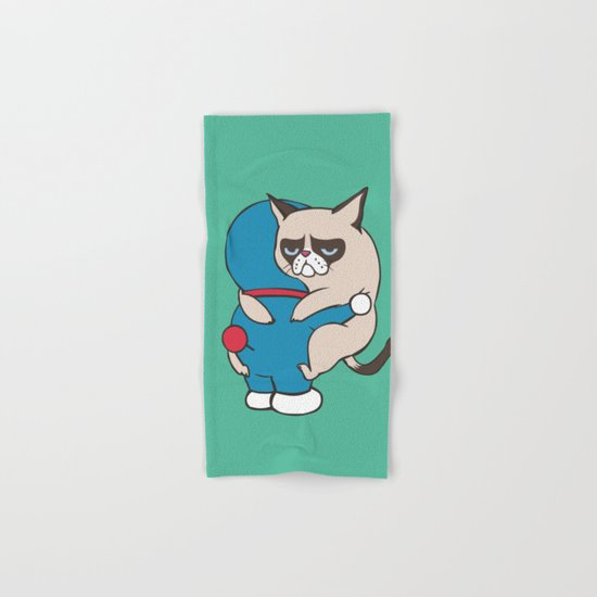 Cat Hugs Hand & Bath Towel