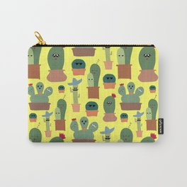 Cactus Family Carry-All Pouch