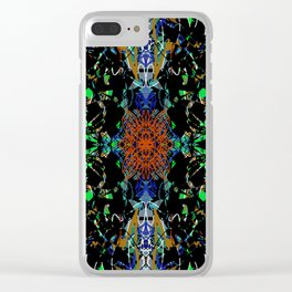 Skeletal Blossom Clear iPhone Case