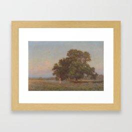 William Henry Gore (1857 -1942) Lengthening Shadows Framed Art Print