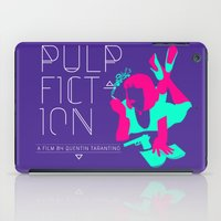 pulp iPad Cases featuring Pulp Fiction by RJ Artworks