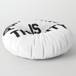 P-TOWN IS THE CITY! Floor Pillow