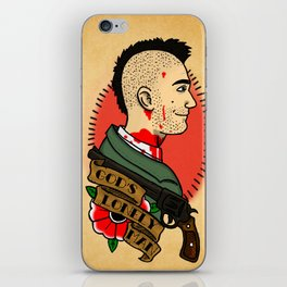 God's lonely man iPhone Skin