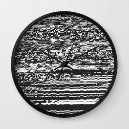 Glitchey Wall Clock