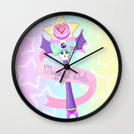 Magical Goth Wall Clock