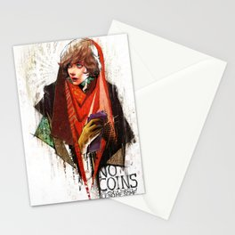 Red Riding Hood Boys: No Coins Stationery Cards