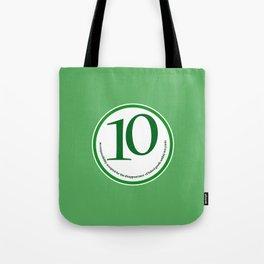 Baked (green-yards) Tote Bag