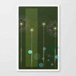 Isolate Verdancy Canvas Print