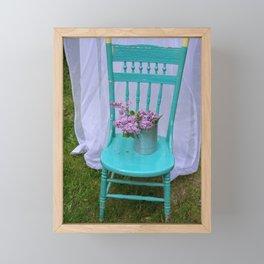 Seated Lilacs Framed Mini Art Print