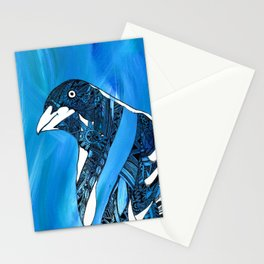 Magpie Blues Stationery Cards