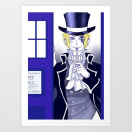 The New Doctor Art Print