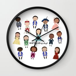 Tell My Story Wall Clock