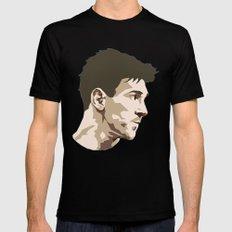 Messi Mens Fitted Tee Black MEDIUM