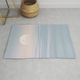 Moon Over Calm Waters Rug