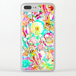 Extravaganza Clear iPhone Case