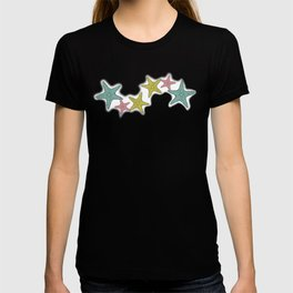 starfish tropical print T-shirt