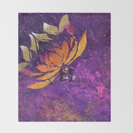 Lotus Fluff Throw Blanket