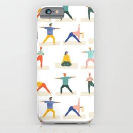 Yoga Pattern | Yoga Namaste Health Meditation Yogi iPhone Case