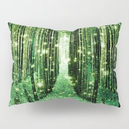 Magical Forest Green Elegance Pillow Sham