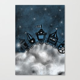 circus - stars Canvas Print
