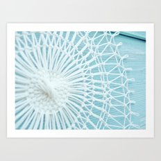 String Art 812 on Shed Art Print