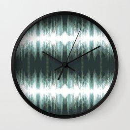 Splashes of Rain Wall Clock