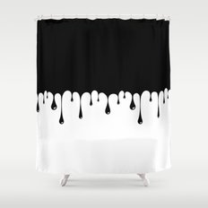 Dripping Shower Curtain