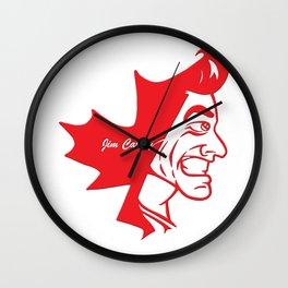 Canadian Pride Series: Jim Carrey Wall Clock