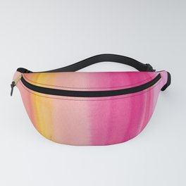 10      190728   Romance Watercolour Painting Fanny Pack