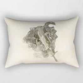Sand Soldier Rectangular Pillow