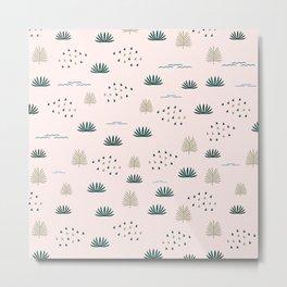 Lovely pattern Metal Print