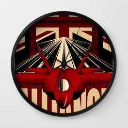 Alliance Affiche Wall Clock
