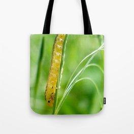 Magic Grass - Caterpillar - Macro Tote Bag