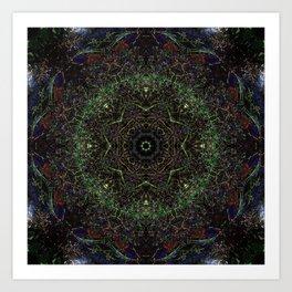 Spring Stream Fractal I Art Print