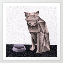 Now (Electric Catnip) Art Print