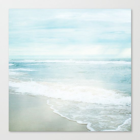 Feel the Sea Canvas Print