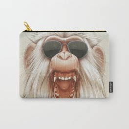 The Great White Angry Monkey Carry-All Pouch
