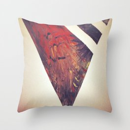 Tribal X Throw Pillow
