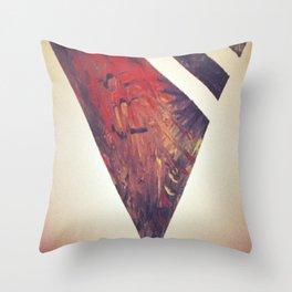 Tribal X Throw Pillow