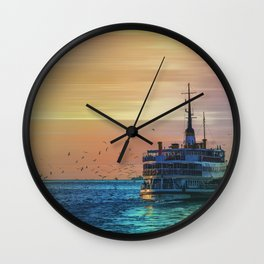 sunset ll Wall Clock