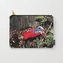 Wild Turkey Close Up Carry-All Pouch