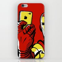 sansa stark iPhone & iPod Skins featuring Stark #Selfie by Butcher Billy