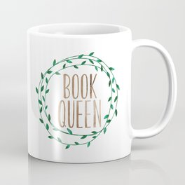 Book Queen Coffee Mug