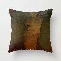 virgo Throw Pillows featuring VIRGO by lucborell