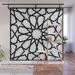 Islamic Geometric Line Art Wall Mural